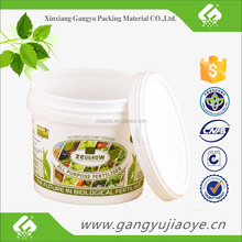 High quality food grade plastic bucket 1 liter for paint ink