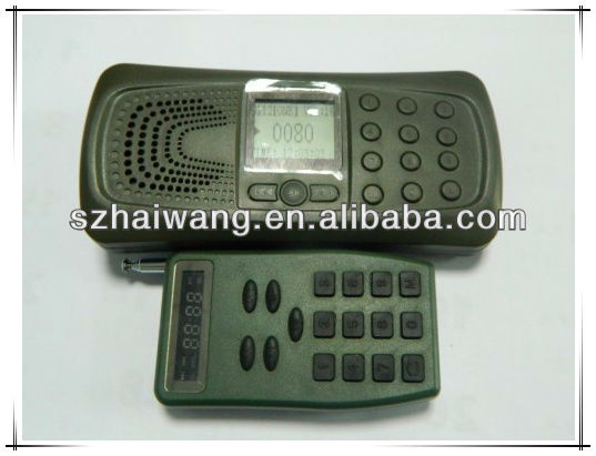 CP387 low price electronic calling birds attractor