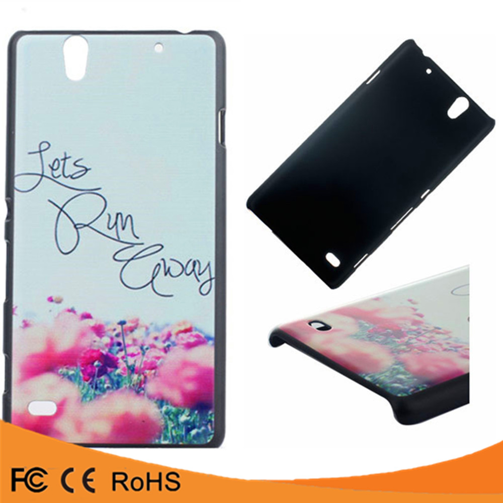 Best selling hot chinese products pc plastic hard waterproof back case cover for sony xperia c4