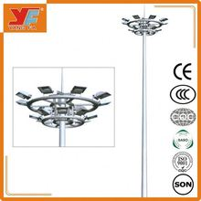 Hot dip galvanizing and durable solar power energy street light pole