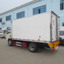 DongFeng 5 tons refrigerator box truck, small refrigerated trucks
