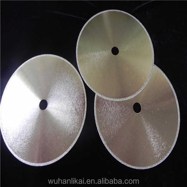 125mm continuous rim glass cutter electroplated dimond saw blade