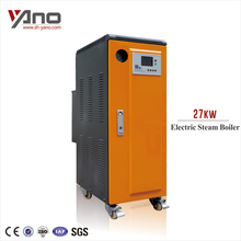 Approval 90% Heating Efficiency 38.7kg/h 27KW Electric Steam Boiler Industry Used Boiler