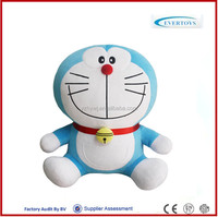 doraemon plush toy machine cat toy japanese cat toy