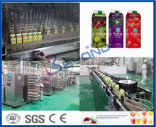 fruit juice processing line from concentrated juice