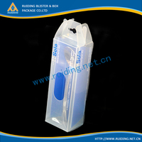 translucent PP box meansuring scoop plastic package