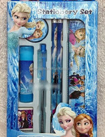 TF-04150725023 2015 children's cartoon ball pen frozen ball pen seven in one