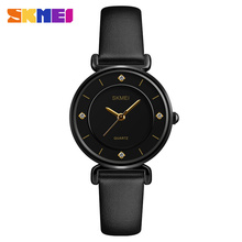 Wholesale Skmei 1330 Gold Wrist OEM Watches Ladies Women Quartz Stainless Steel Back Watch