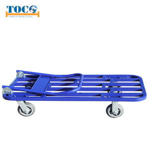 Powder coating or galvanized platform trolley specifications standard
