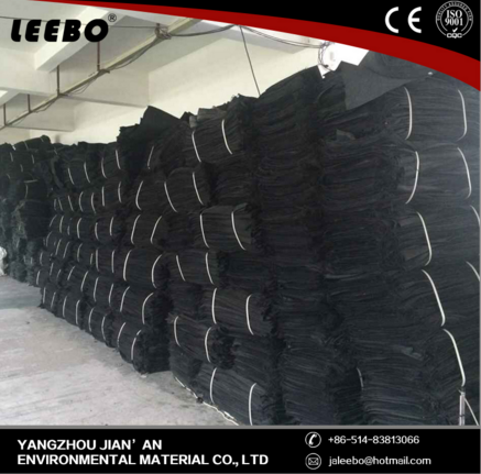 disposable reinforced earthwork fabric geobag