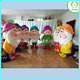 HI CE movie character seven dwarf plush adult mascot costume for hot selling,adult mascot costume for birthday party