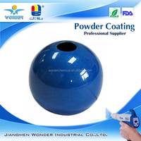 epoxy bonding chrome metallic powder coating