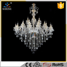 Vietnam Chrome Bright Crystal Chandelier Lighting In Dubai Model SC1188