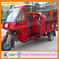Chongqing Manufactor bike cargo Three Wheel Motorcycle/petrol tricycle with cabin For Sale