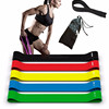 5 Sets Loop Resistance Bands Of