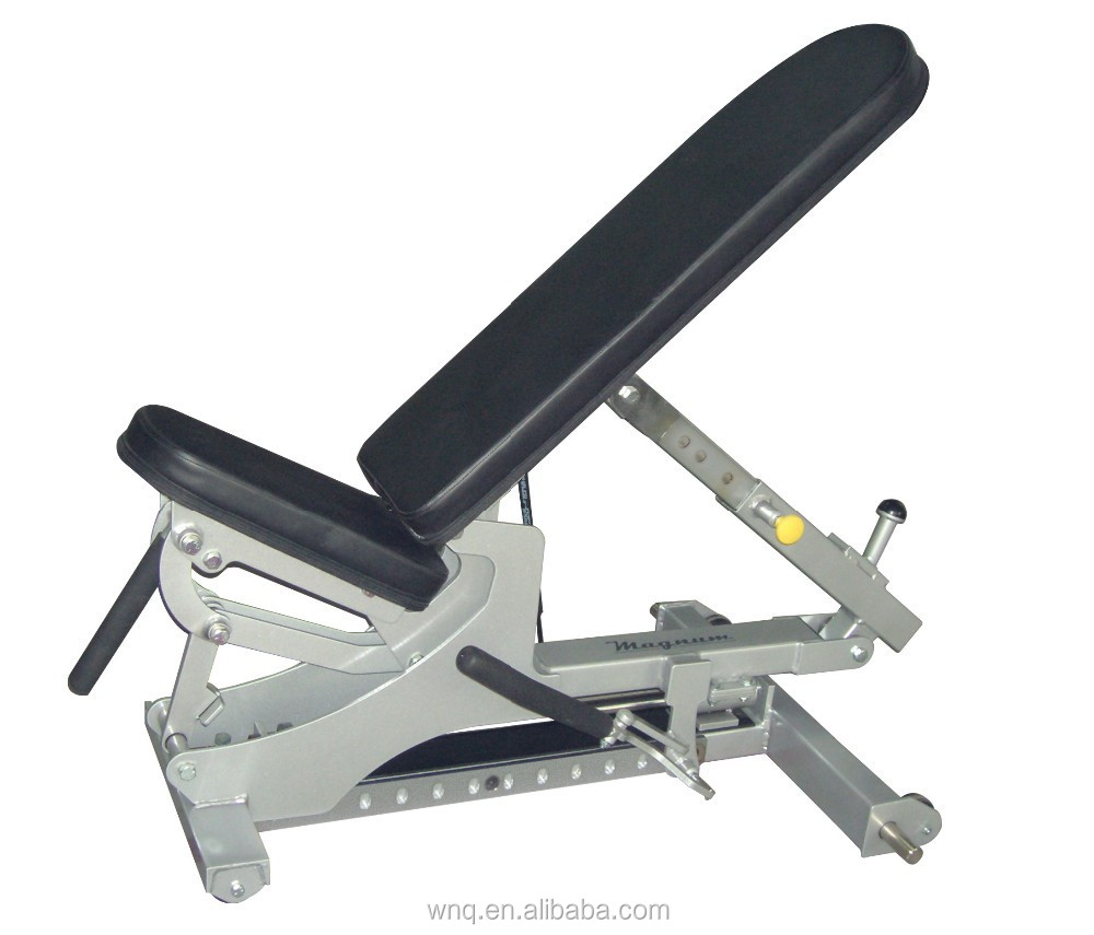 Adjustable Incline Bench press/Gym multi bench/Chest press bench(F1-A695)