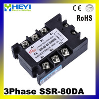 3-phase Solid State Relay/SSR Relay/4-32VDC/OEM Service