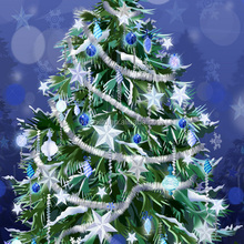 new christmas glitter powder for tree candle decoration