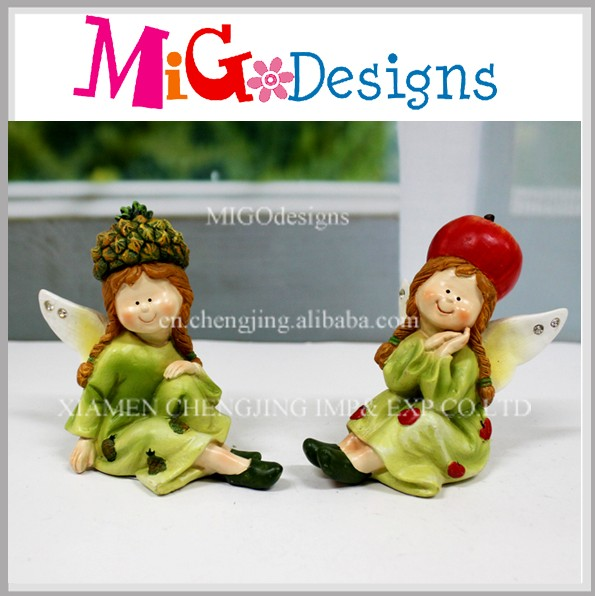 Unique Resin Handmade Beautiful Fairy Figurines Wholesale