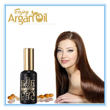 Private label argan oil moisturizing OEM hot sale red oil for hair