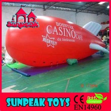 BL-056 Sunpeak Promotion Helium Big Inflatable Airplane
