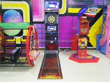 Newest design ! The most popular coin operated dart boards dart machine for sale