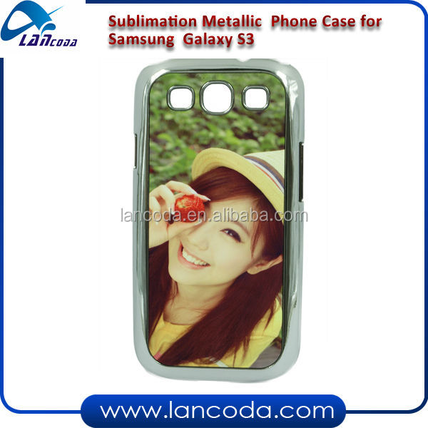 sublimation mobile phone cover for Samsung Galaxy S3 I9300
