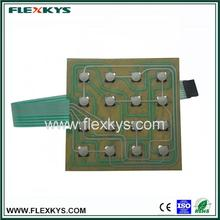 Hot selling high quality waterproof membrane switch keypad