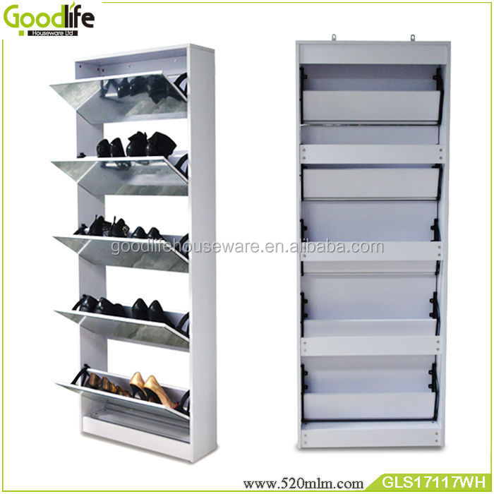 living room furniture mirror shoe storage cabinet diy shoe rack