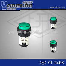 Shanghai Yongxing CQC 22mm 12 volt led indicator lights
