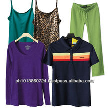 Branded Stock lot & Garments Clothing Wholesale apparel 2013