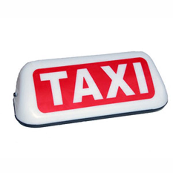 magnetic taxi light taxi roof signs for sale buy taxi. Black Bedroom Furniture Sets. Home Design Ideas