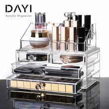 Acrylic Material and Storage Boxes&Bins Type cosmetics/jewelry storage organizer