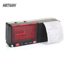 Factory Supply Smart LED / LCD Taximeter with printer, tariff billing printer smart taxi meter