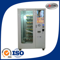 Best Price Iso Certification Cash Function Automatic Ice Cream Vending Machine