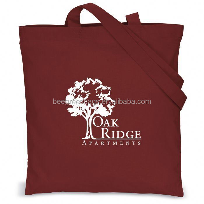 BeeGreen Promotional Cotton burlap tote bags With Custom Printing
