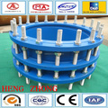 Cast iron double flanged expansion joint stainless steel pipe