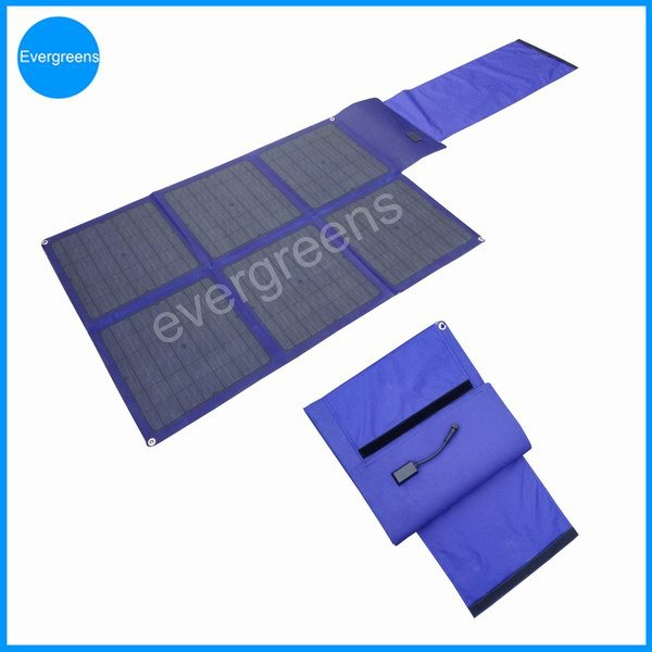 100W 18V folding mono solr charger, foldable solar panel