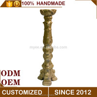 Decorative Antique resin candle holder