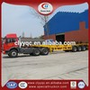 Factory price 40T heavy duty low bed car trailer