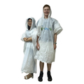 Vogue Disposable Emergency Coat Against Rain Snow Adults/Kids Raincoat Poncho