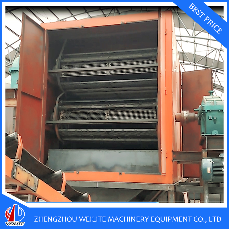 Energy Saving Professional Cabinet Chain Dryer For Briquette Production Line