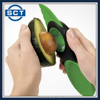 Kitchen Tool 3-in-1 Avocado Slicer Splits Fruit Pits Home Slices Household