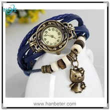 Fancy wrist simple vogue pendant watch band leather for antique wrist watches