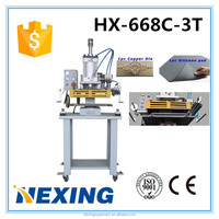 Pnematic Hot foil stamping and embossing machine