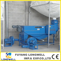 LONGWELL high efficient EPS De-duster recycling hot melting machine