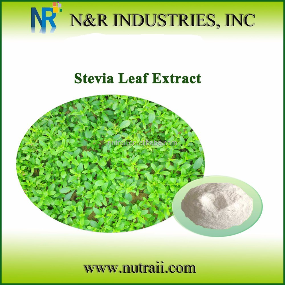 Reliable supplier and high quality stevia leaf extract powder 90%STEVIOSIDE