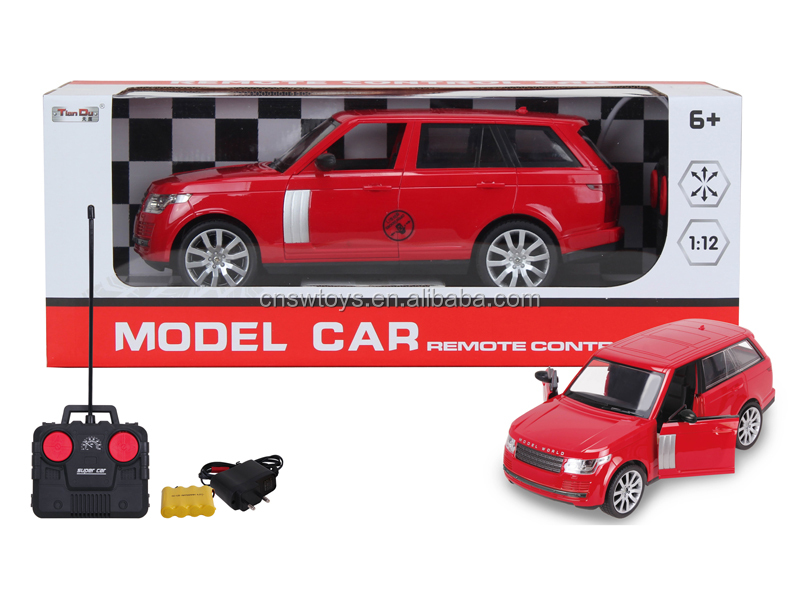 YK0809318 Novel shantou hot toys car remote control car 4 channel with light battery can open door vehicle for kids