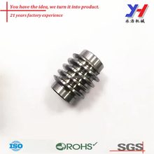 OEM customize cnc machining worm gear part