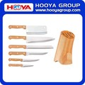 7 PCS Kitchen Knife SetS with Wooden Block